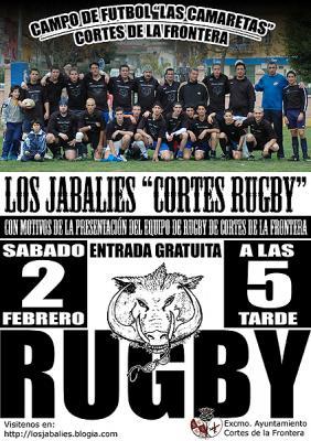 """Partido de presentación """"Cortes Rugby"""""""