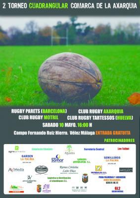 II Torneo nacional: Este sábado, rugby en la Axarquía